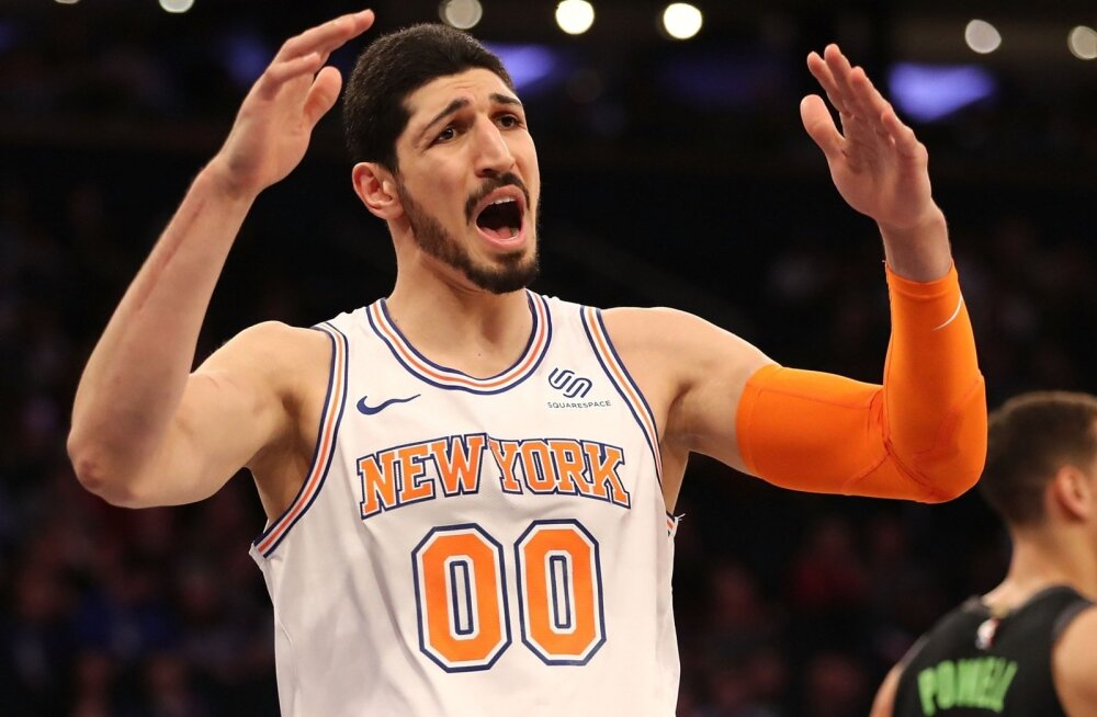 New York Knicksi mängumees Enes Kanter
