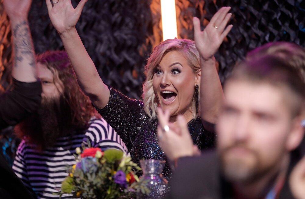 БОЛЬШАЯ ГАЛЕРЕЯ и ВИДЕО: Определились первые финалисты Eesti Laul. Не обошлось без сюрпризов. А за кого голосовали вы?