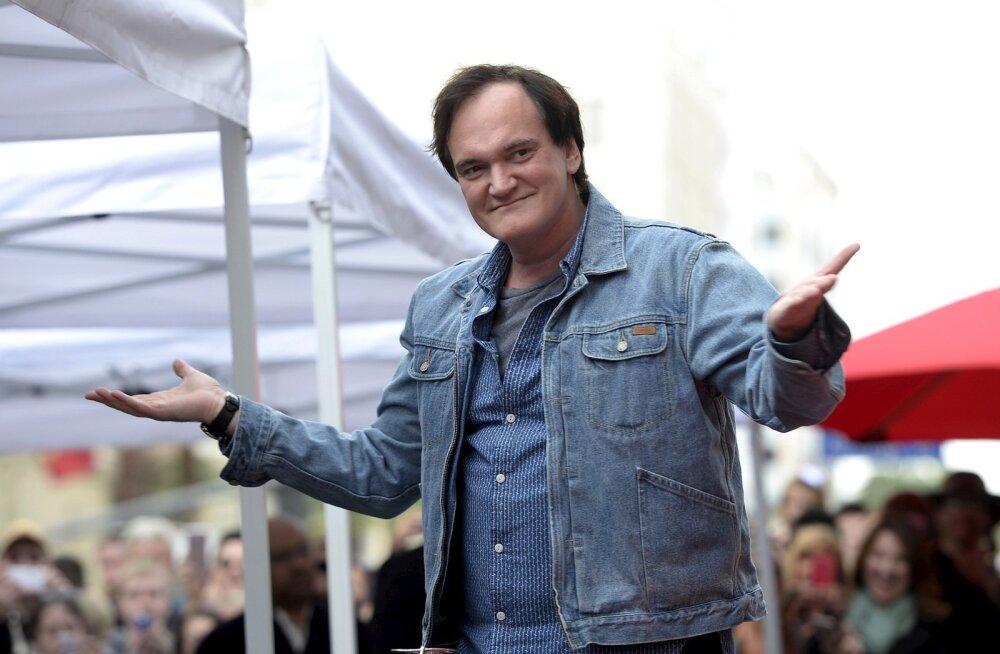 Quentin Tarantino sai tähe Hollywoodi kuulsuste alleel