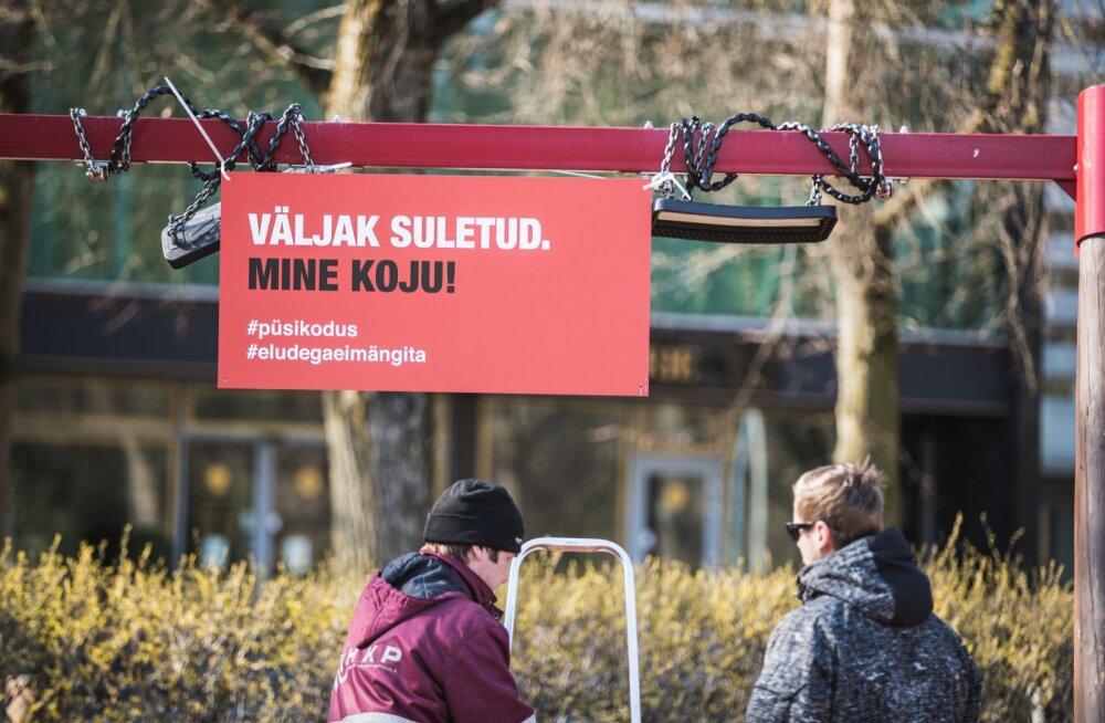 Tartu sulges mängu- ja spordiväljakud