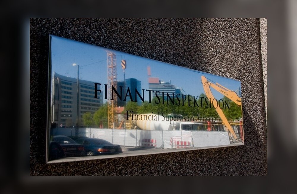 Finantsinspektsioon.