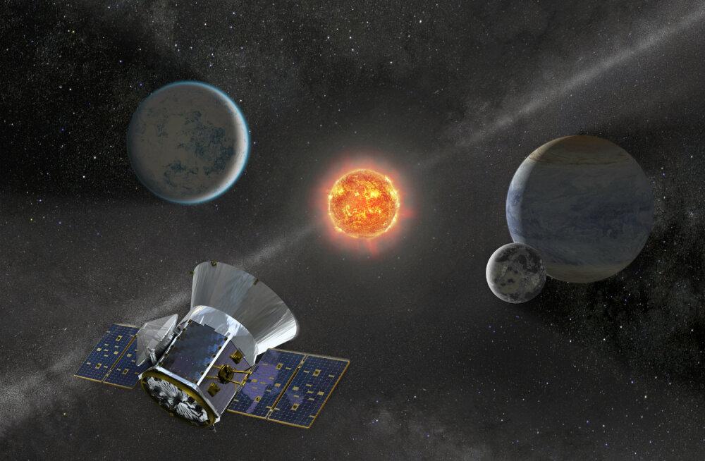 NASA saadab kosmosesse uue kaugete planeetide otsija