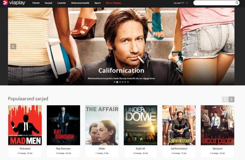 Tegevust alustas uus videoteenus Viaplay, võrdleme seda Netflixi ja MINU.TV-ga kodus