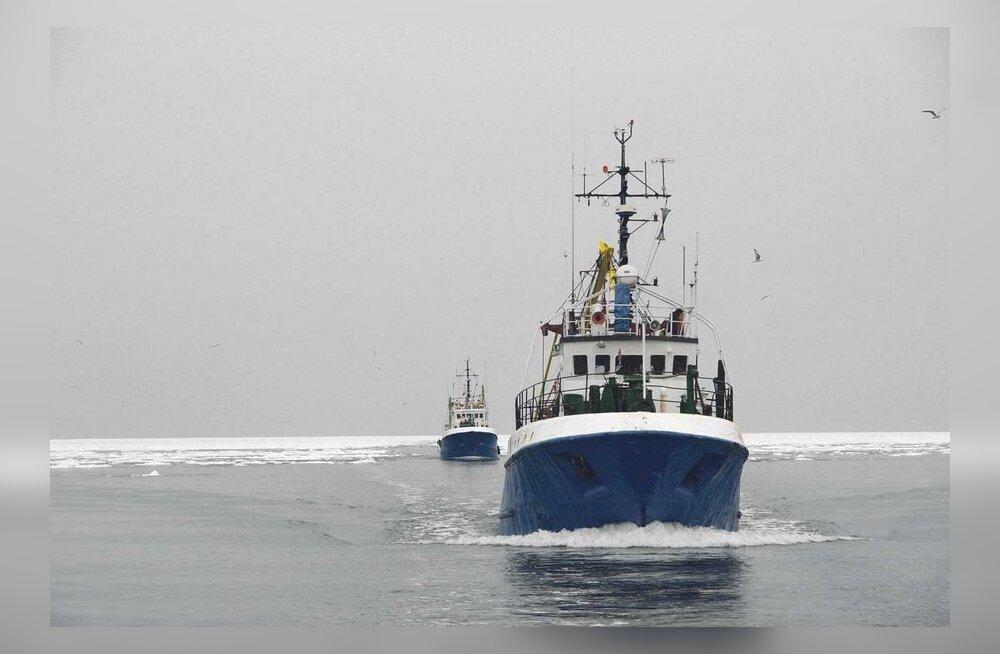 Eesti firmad ostavad kvoodi pärast Soome kalalaevu