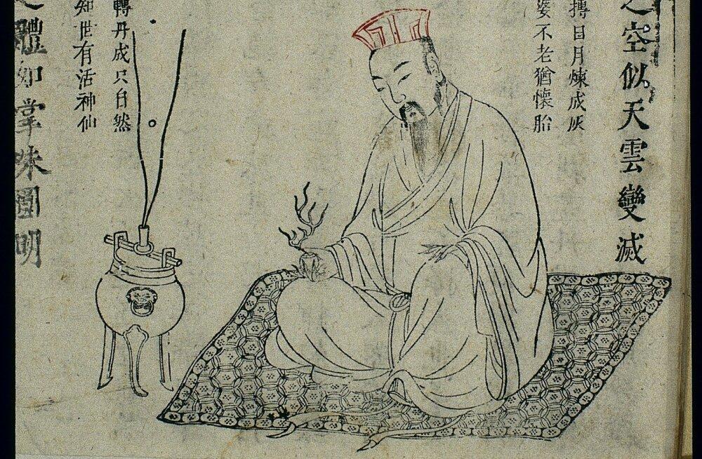 """Hiina hauakambrist leiti mõistatuslik """"surematuse eliksiir"""""""