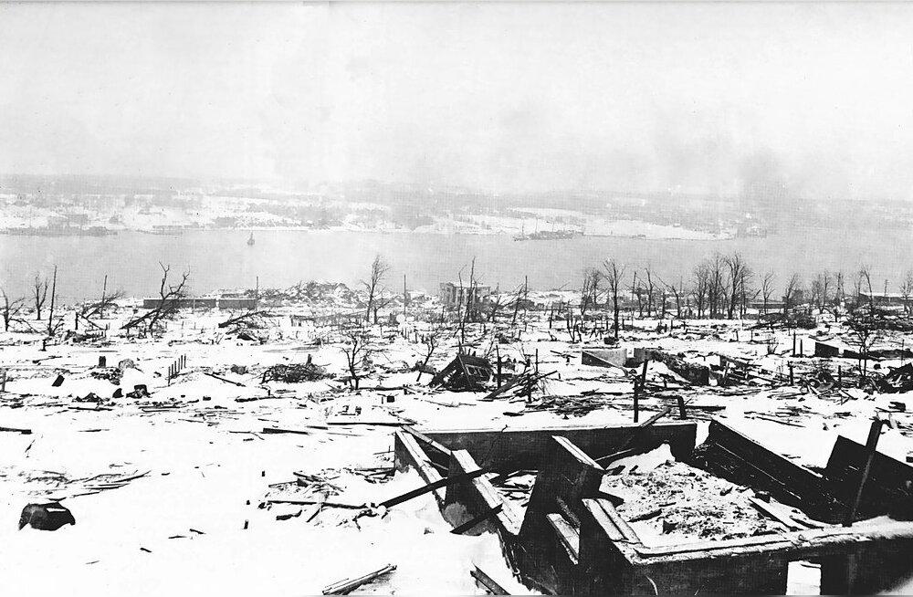 TAGASIVAADE | Suurim katastroof enne Hiroshimat. Kuidas Norra laev sõitis pahaaimamatult otsa 3000-tonnisele ujuvpommile