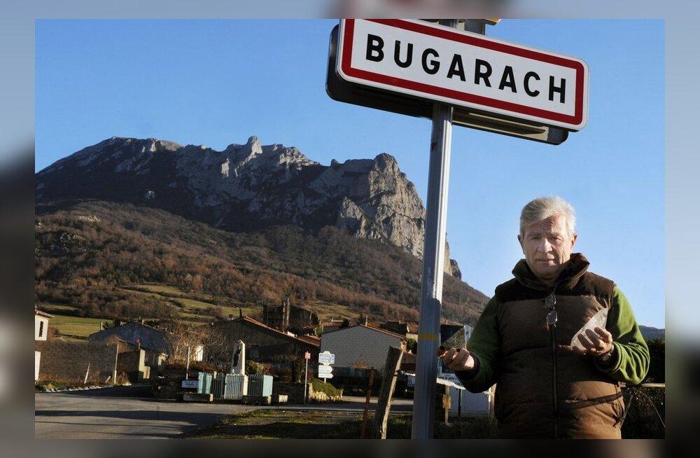 Prantslased sulgesid mäe, mis pidanuks maailmalõpu eest kaitset pakkuma