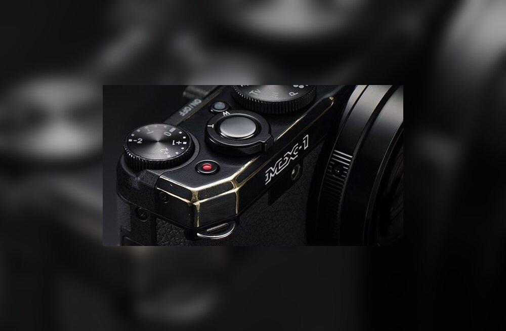 Pentax esitleb oma kompaktkaamerate lipulaeva MX-1