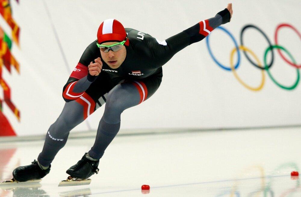 Lätlane Haralds Silovs sai olümpial 4. koha.