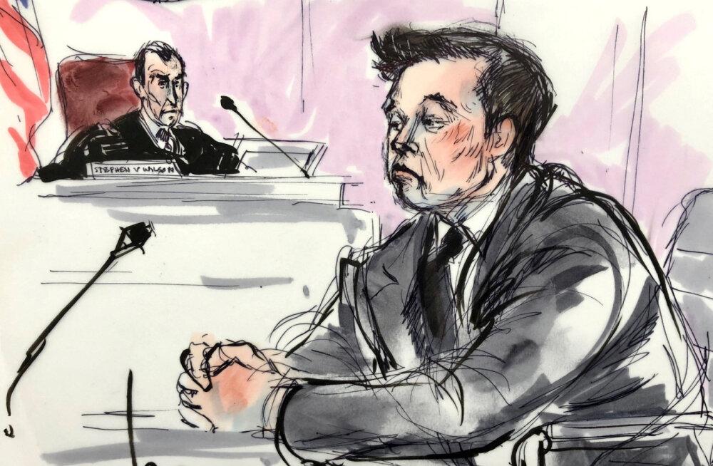 Vandekohus: Elon Musk ei pea mehe <em>pedoguy</em>'iks nimetamise eest talle raha maksma