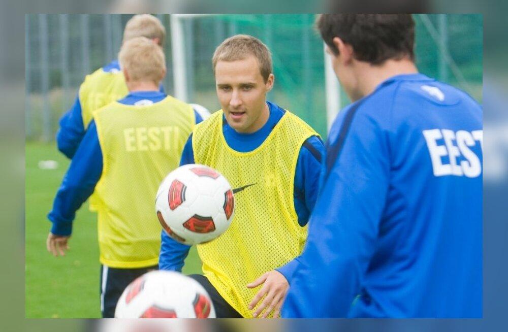 Eesti jalgpallikoondise treening, Sander Puri