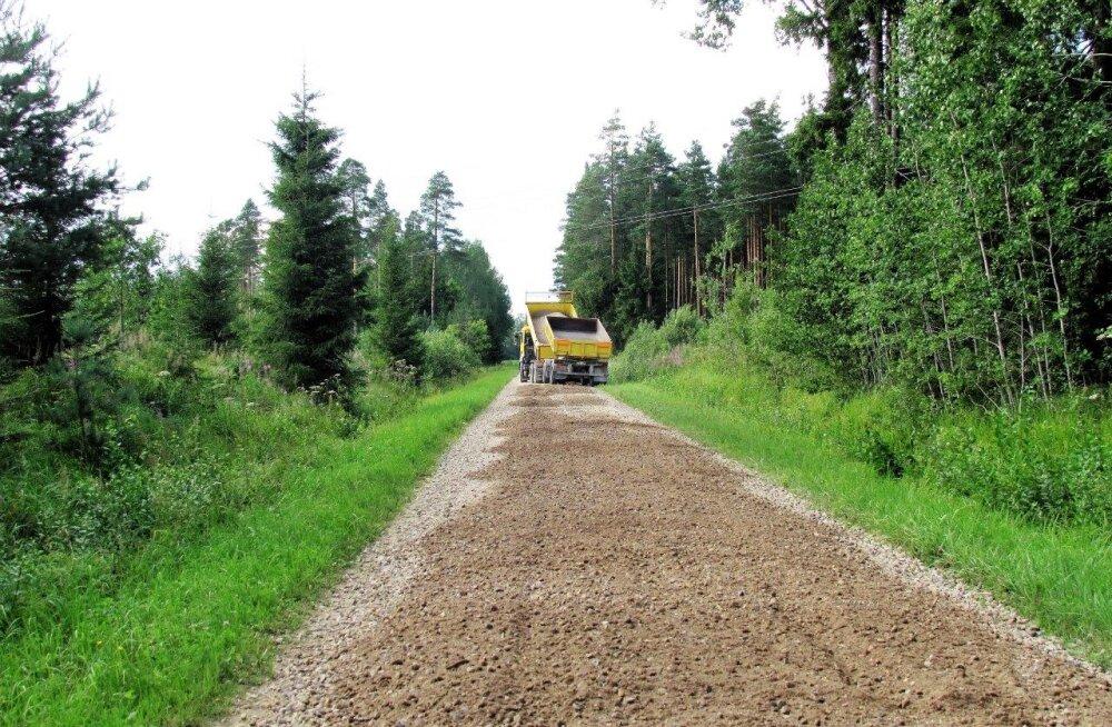 Maade ja teede parandustööd