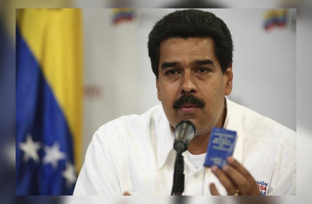 Venezuela presidendi kohusetäitjaks vannutati Nicolás Maduro