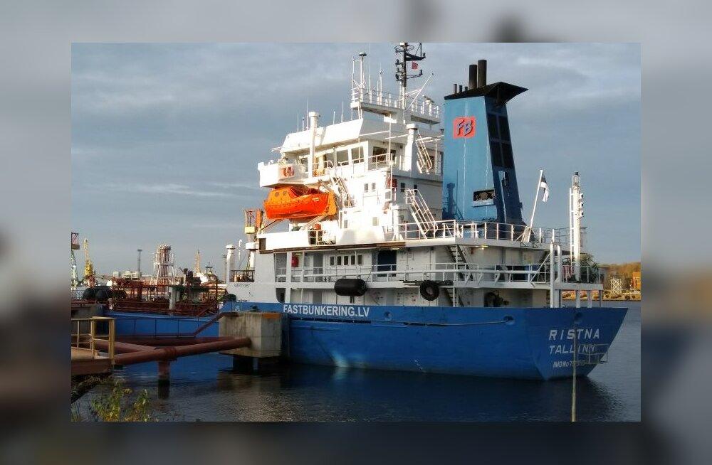 Под флаг Эстонии вернулось первое крупное грузовое судно