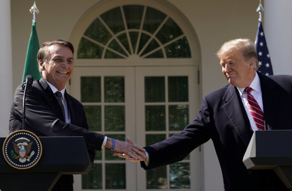 Uus liitlane? Trump kaalub Brasiilia NATO liikmeks võtmist