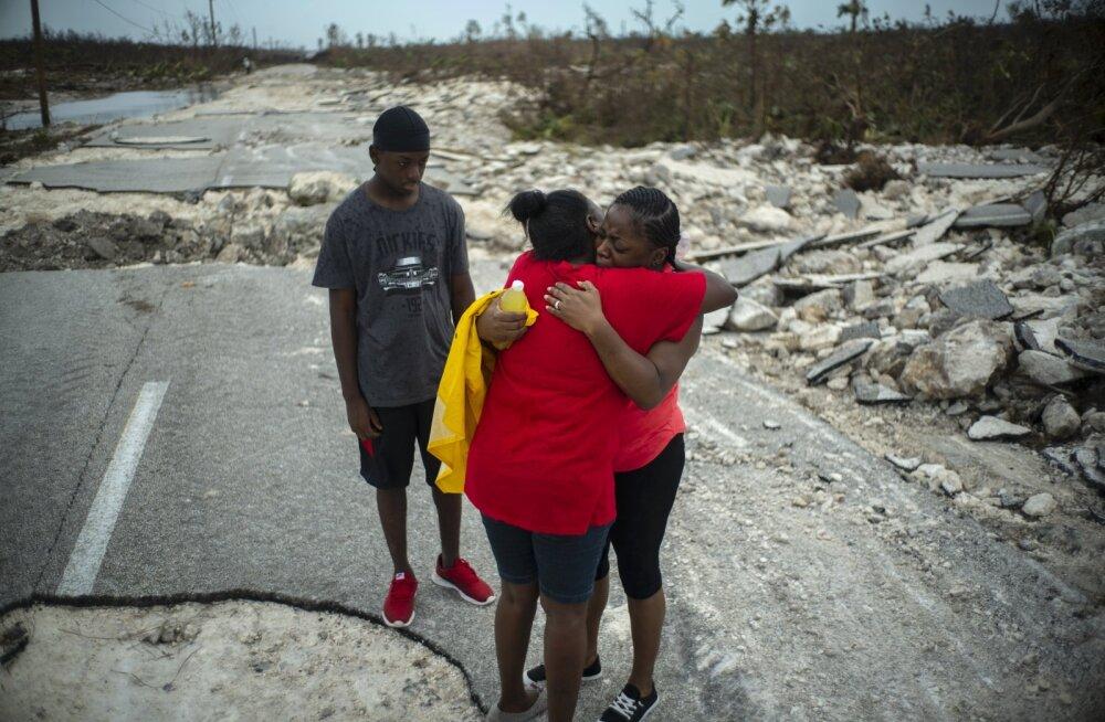 Orkaan Doriani hävitustöö Bahamadel: häving on täielik, vaatepilt hingemattev