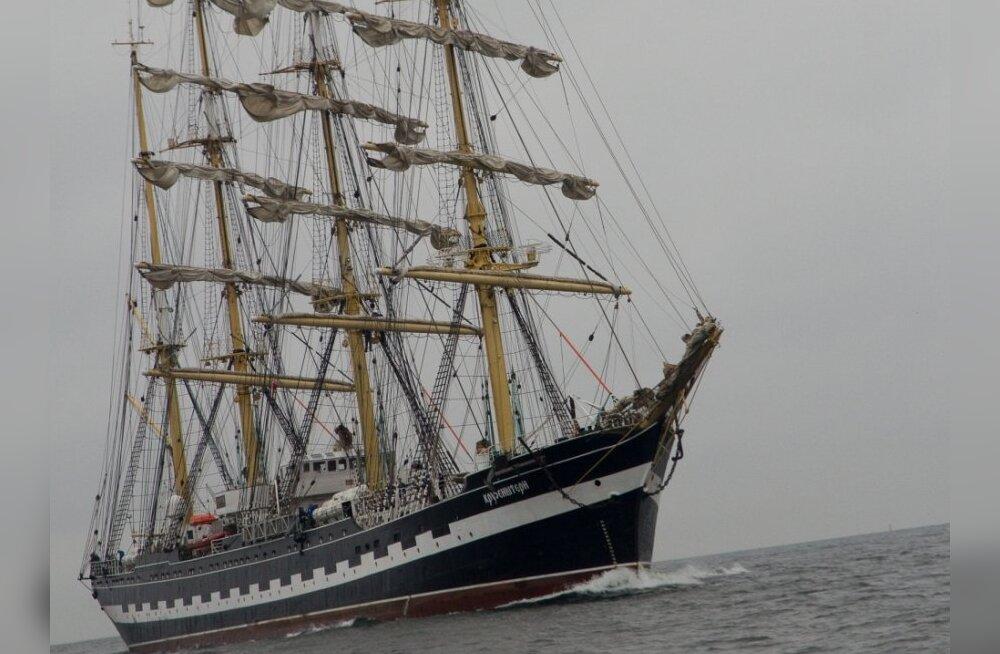 Kapten: Krusensterni pardale pääses 18 000 inimest