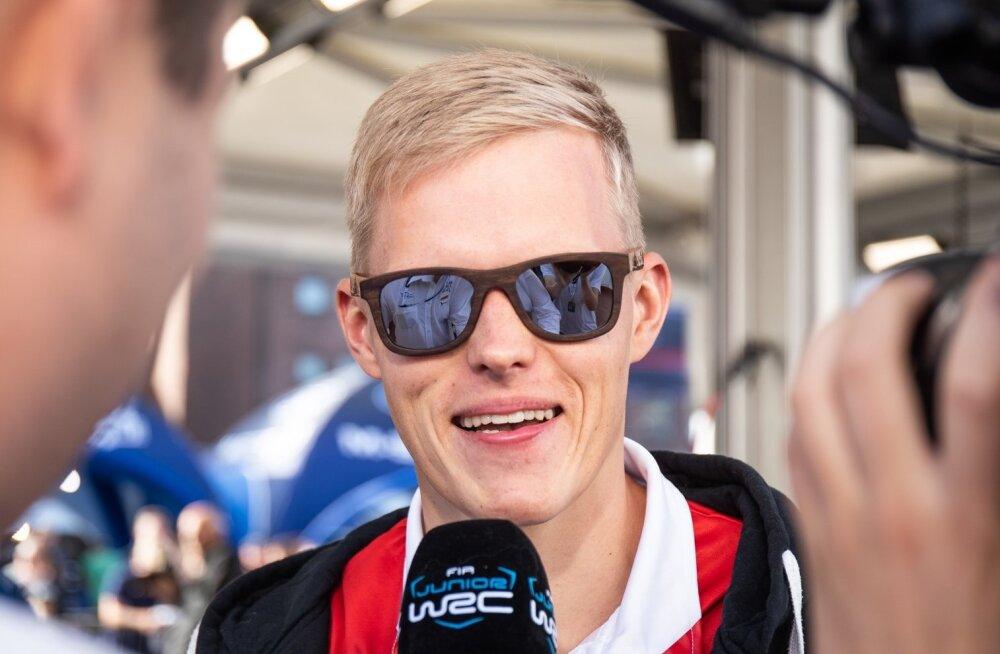 Ott Tänak Soome MM-ralli 2019