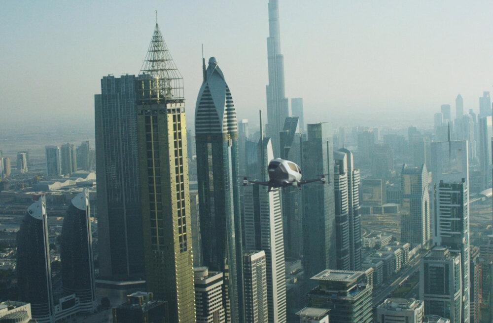 Dubais hakkavad väga varsti ringi lendama õhutaksod