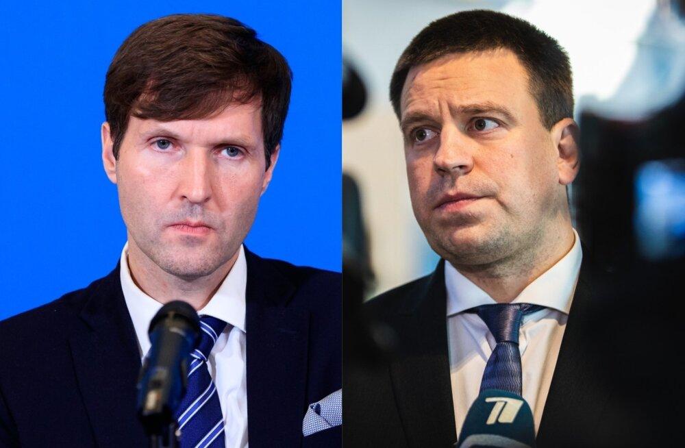 Martin Helme ja Jüri Ratas