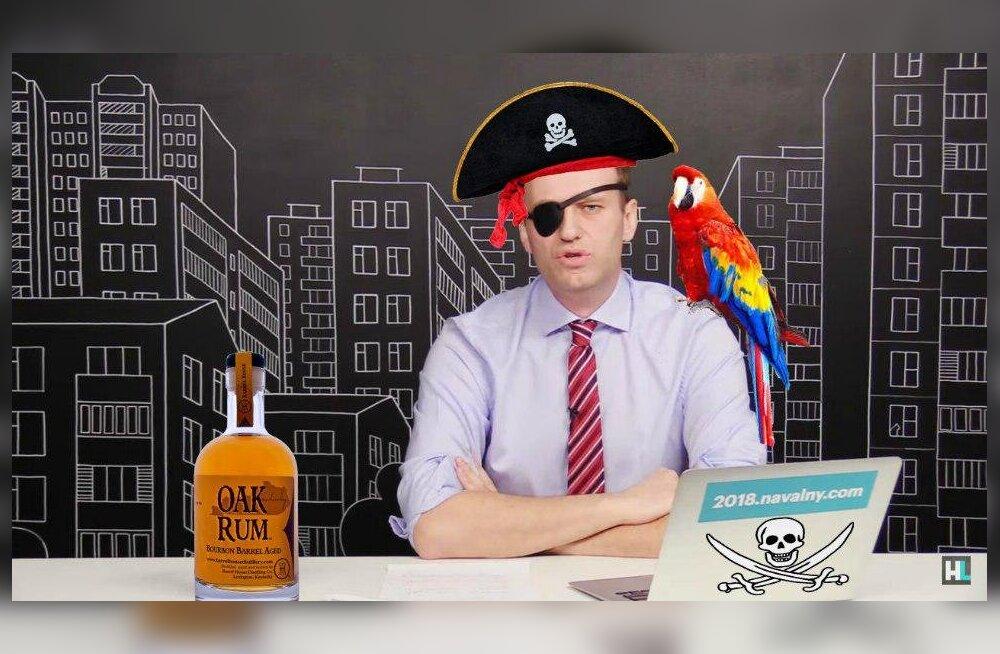 Vene opositsioonipoliitik Navalnõi otsustas piraadiks hakata