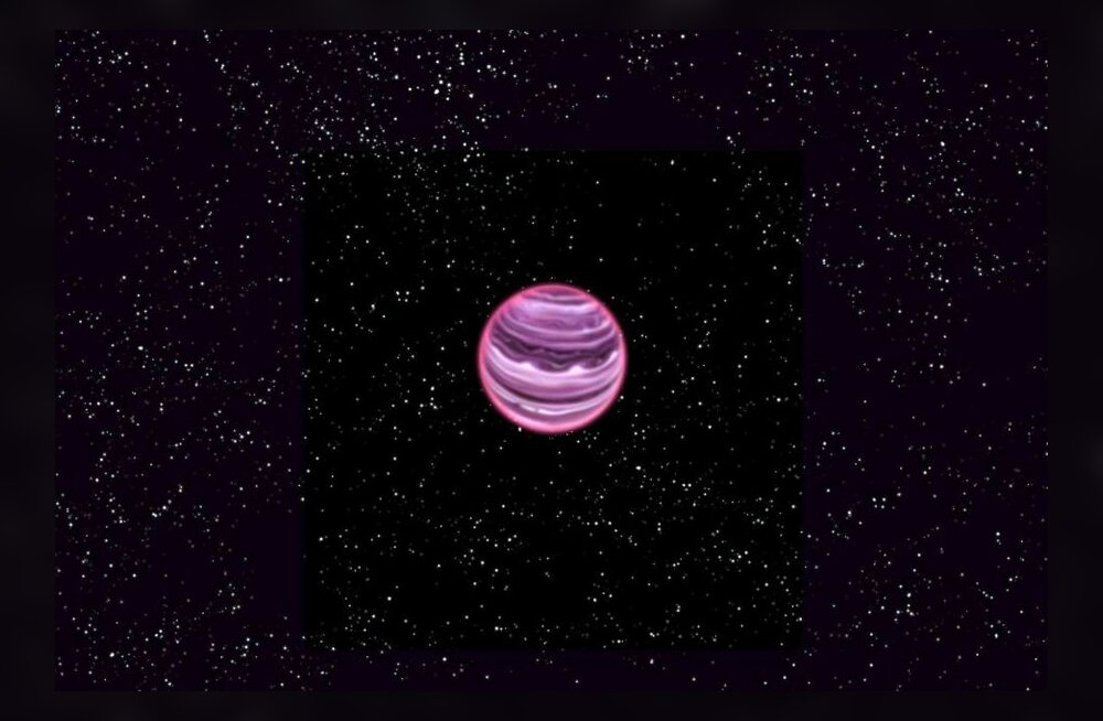 Kunstniku joonis planeedist. MPIA/V Ch Quetz