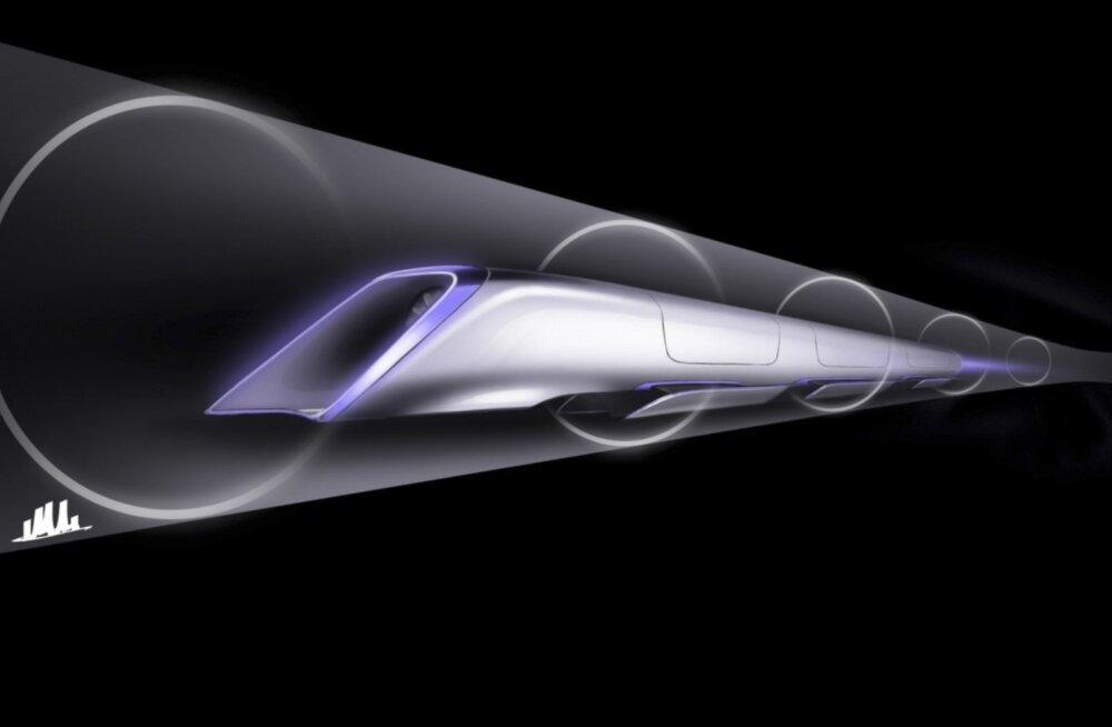 Konkurent Hyperloopile: korealased töötavad välja helikiirusel sõitvat rongi