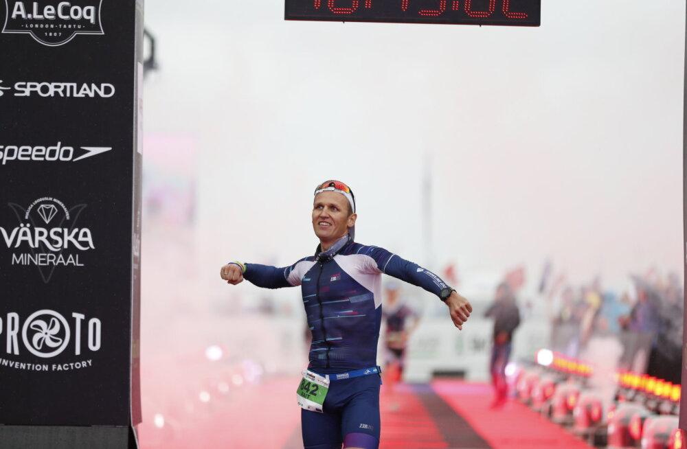 Elu kiireima triatloni teinud Ratasepp: krambid segasid, aga jooksin end täiega tühjaks