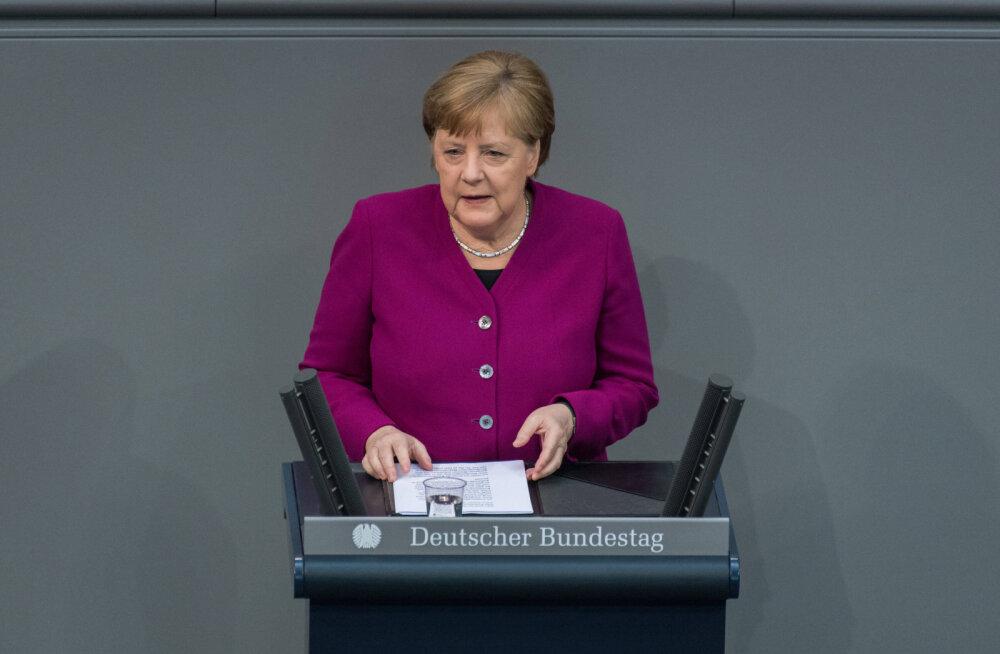 Merkel: me ei ela pandeemia lõppfaasis, vaid alles alguses