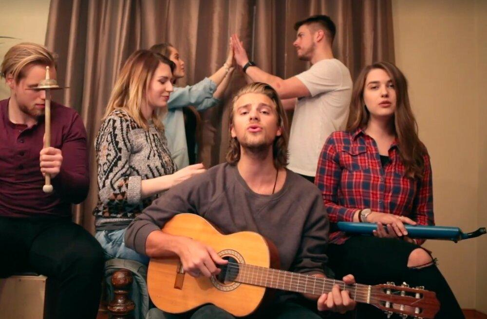 LÕBUS MEGAMIX: Vaata, kuidas Daniel Levi bänd vaid 2 minutiga kõik Eesti Laulu tänavuses finaalis kõlavad lood ette kannab!