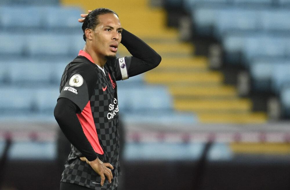 Uskumatu mäng: Aston Villa kõmmutas tiitlikaitsjale Liverpoolile seitse väravat