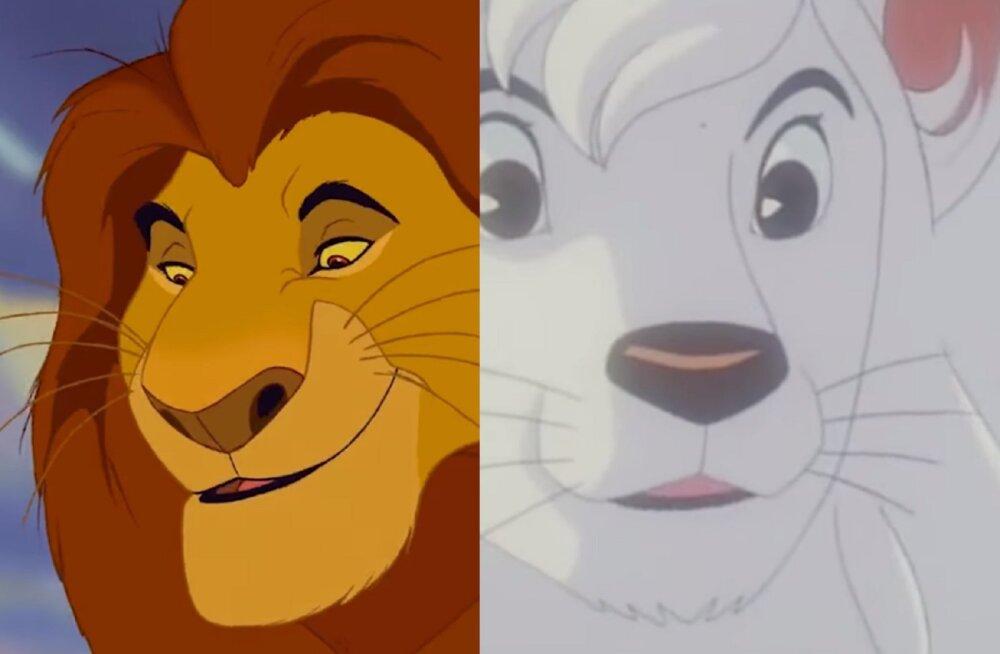 """Fännid on veendunud, et Disney """"Lõvikuningas"""" varastas kõik oma ideed sellest Jaapani animatsioonist"""