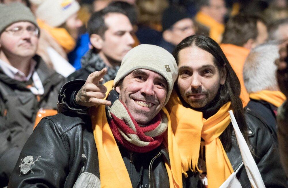 Marcile ja Eduardile meeldib Ciudadanose liberaalne poliitika.