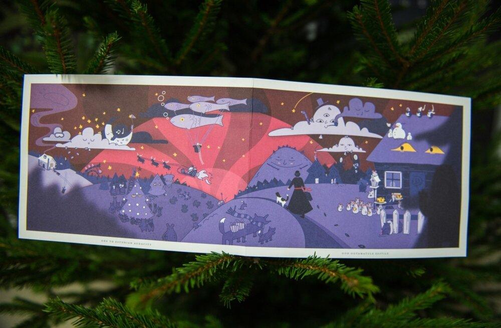 Presidendi jõulukaart 2015