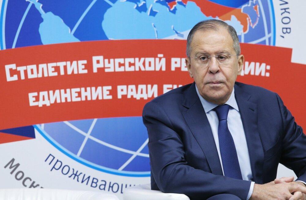 Lavrov kurtis järjekordselt venemaalaste diskrimineerimise üle Ukrainas ja Balti riikides
