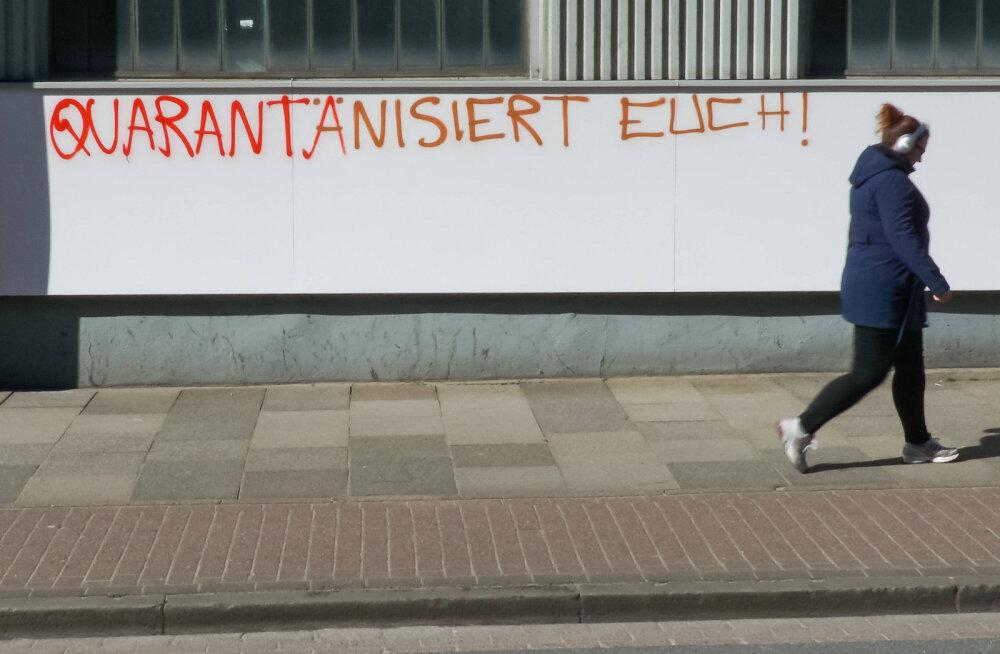 Saksamaa keelas enam kui kahe inimese avaliku kogunemise