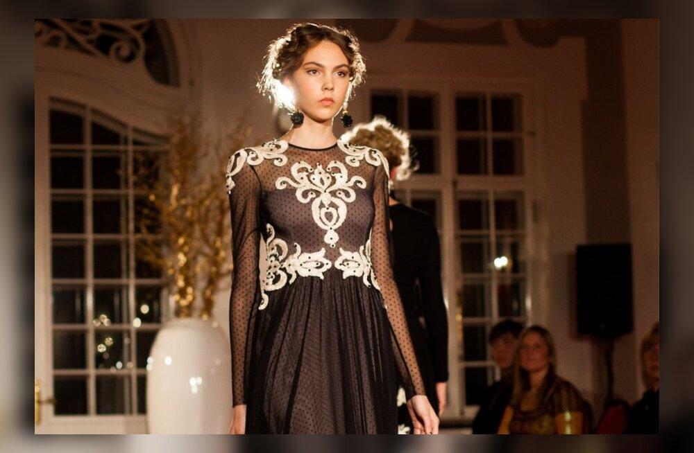 f19625568db FOTOD: Tiina Talumees esitles uut sügis-talvist <em>couture</em