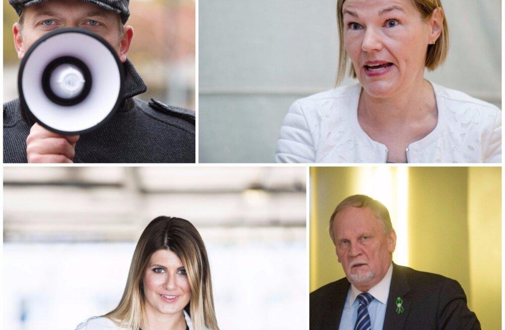 Keda pakuvad erakonnad Tallinna linnavolikogu esimeheks?