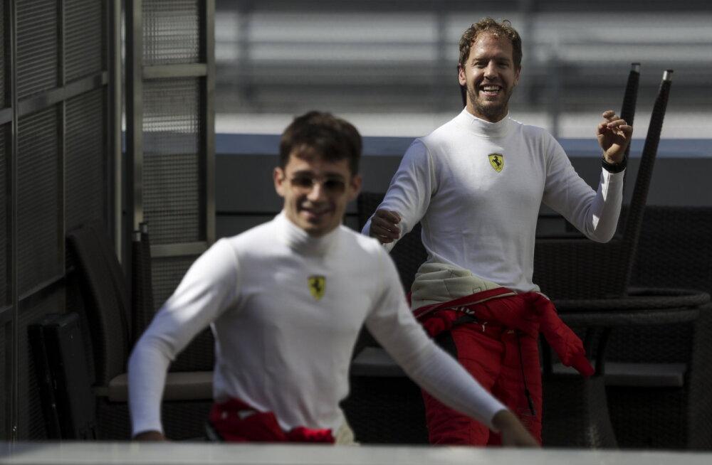 Sebastian Vettel nimetas F1-sarja kõige potentsiaalikama noorsõitja