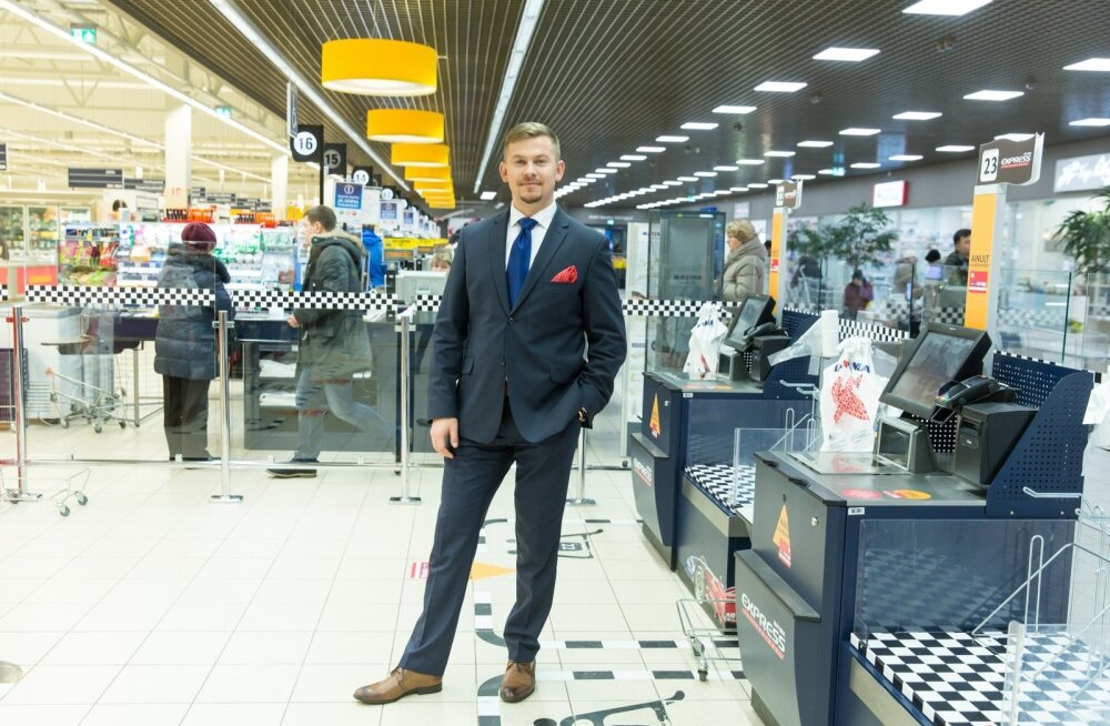Maxima Eesti juht Marko Põder