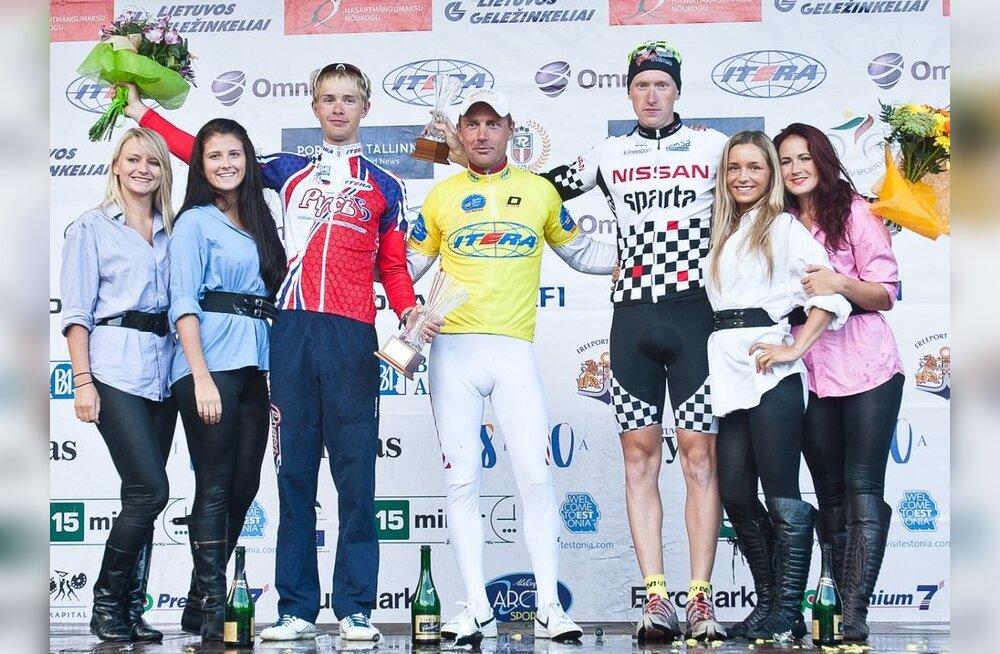 FOTOD: Balti velotuuri võitis viimasel etapil võimsat sõitu teinud Erki Pütsep