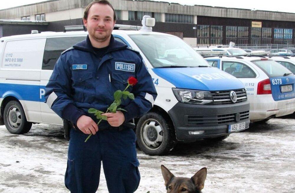 KLÕPS | Politsei- ja Piirivalveamet läkitas naistepäeva puhul sotsiaalmeediasse eriti armsa tervituse
