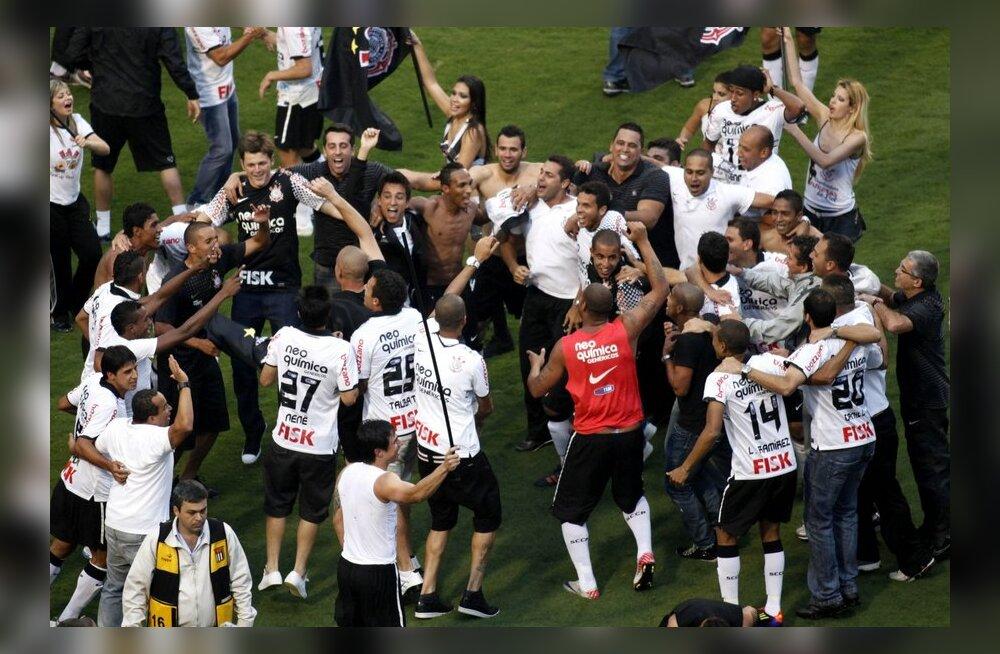 Brasiilia ning Argentiina jalgpalliliigades selgusid meistrid