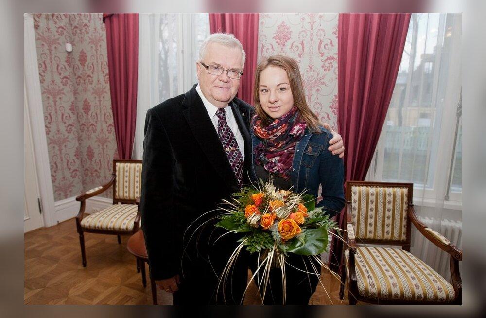 Ühispilt - Edgar Savisaar ja Jelena Glebova