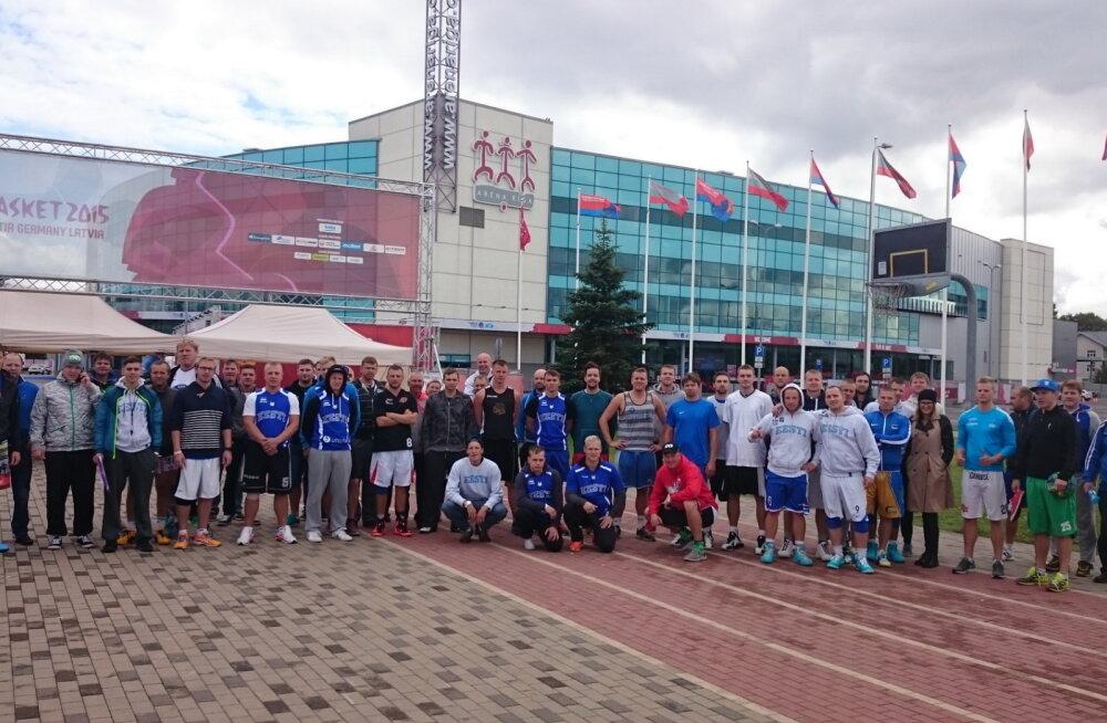 Eesti korvpallifännide 3x3 turniir Riias