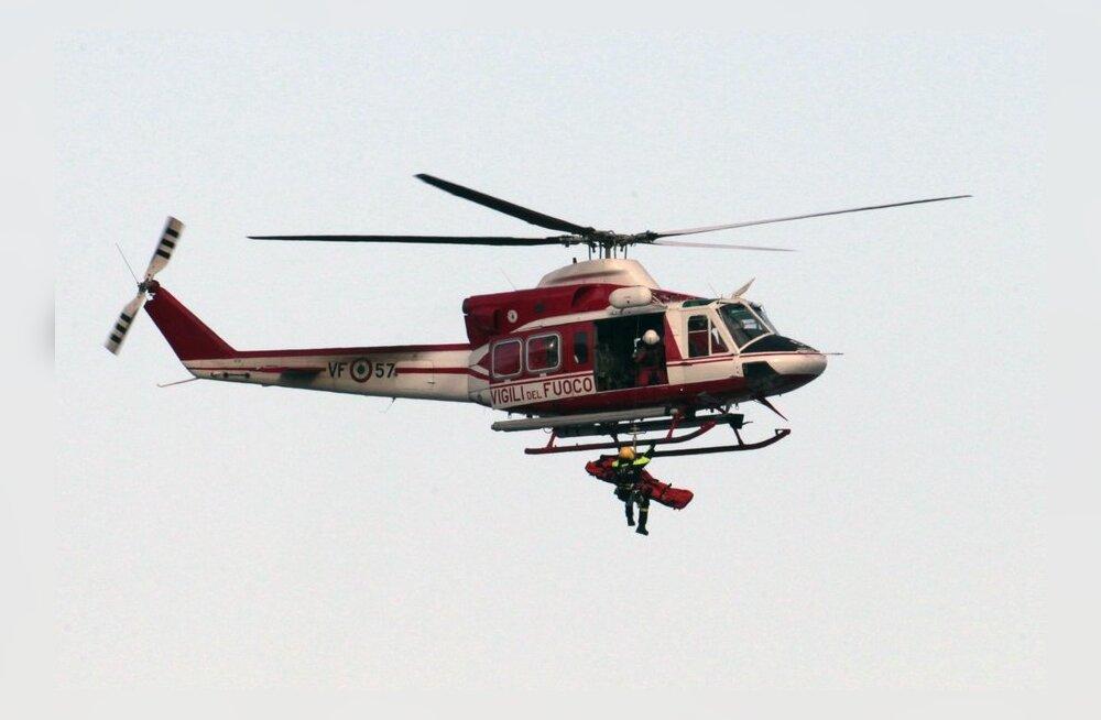 FOTO: Itaalia kruiisilaevalt päästeti veel üks inimene
