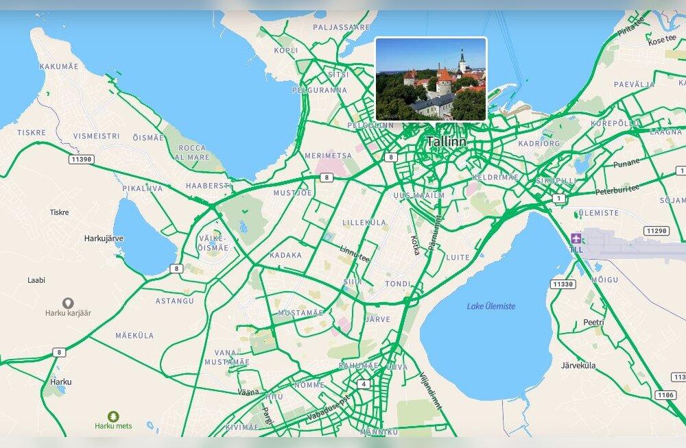 А фото ваших родных мест там есть? Картографическое приложение содержит миллионы свежих снимков, сделанных в Эстонии