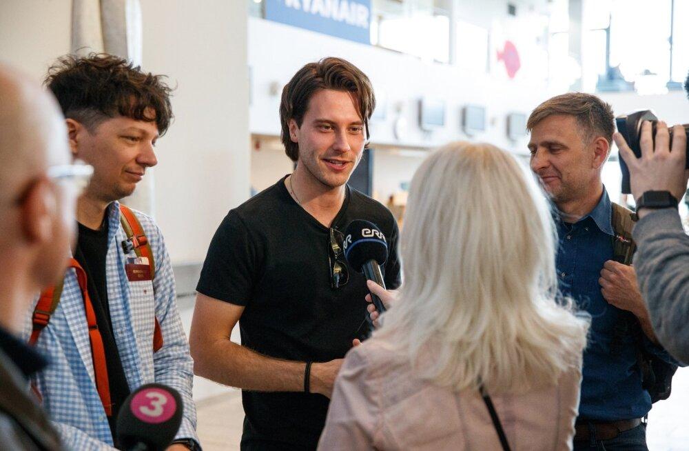 Pressikohtumisele Victor Crone ja Eesti delegatsiooniga