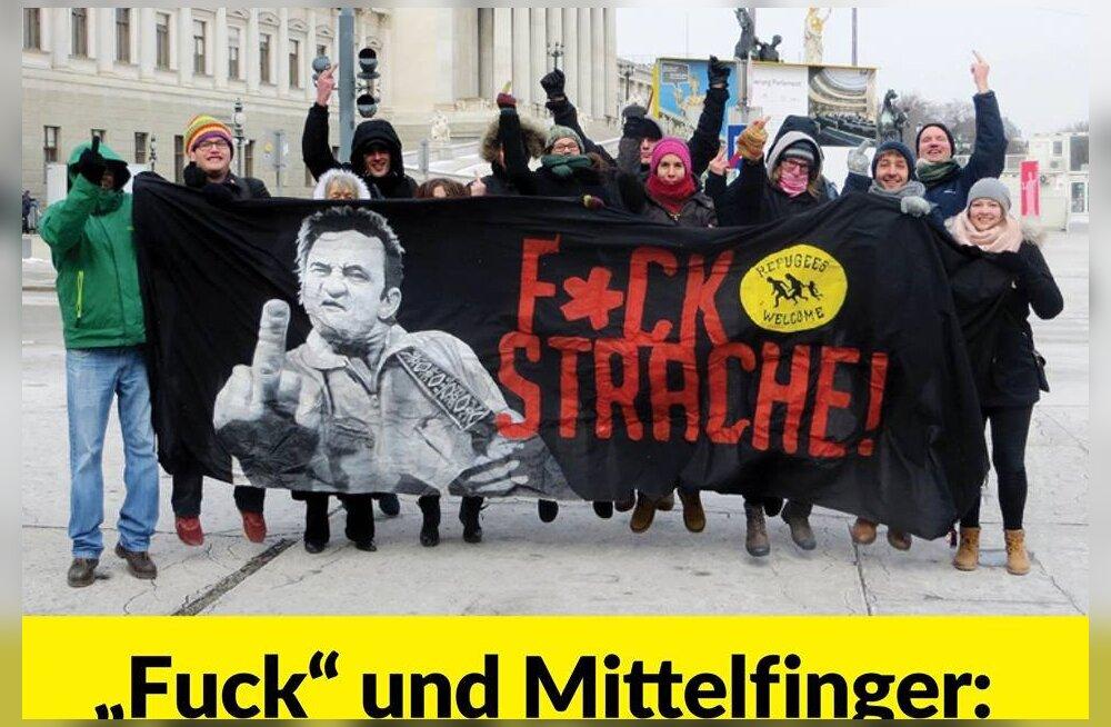 Austria kohus: poliitikutele võib keskmist sõrme näidata