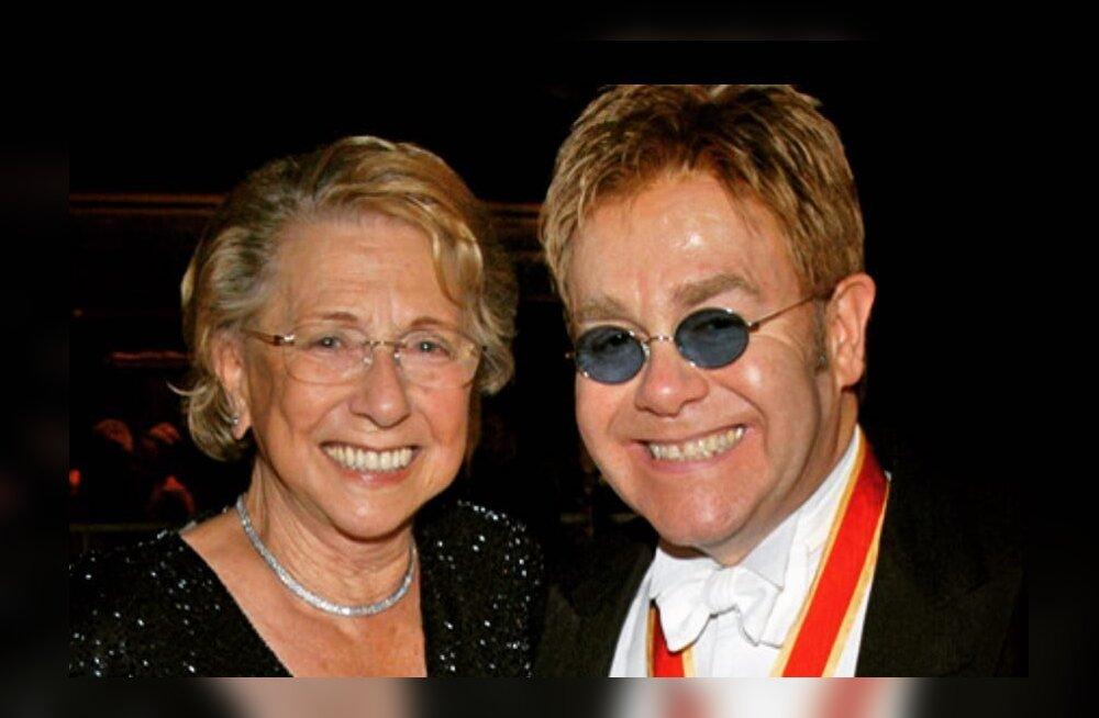 Ninanips teispoolsusest! Elton Johni ema pärandas oma assistendile pea miljon dollarit, aga pojale jättis kaks urni